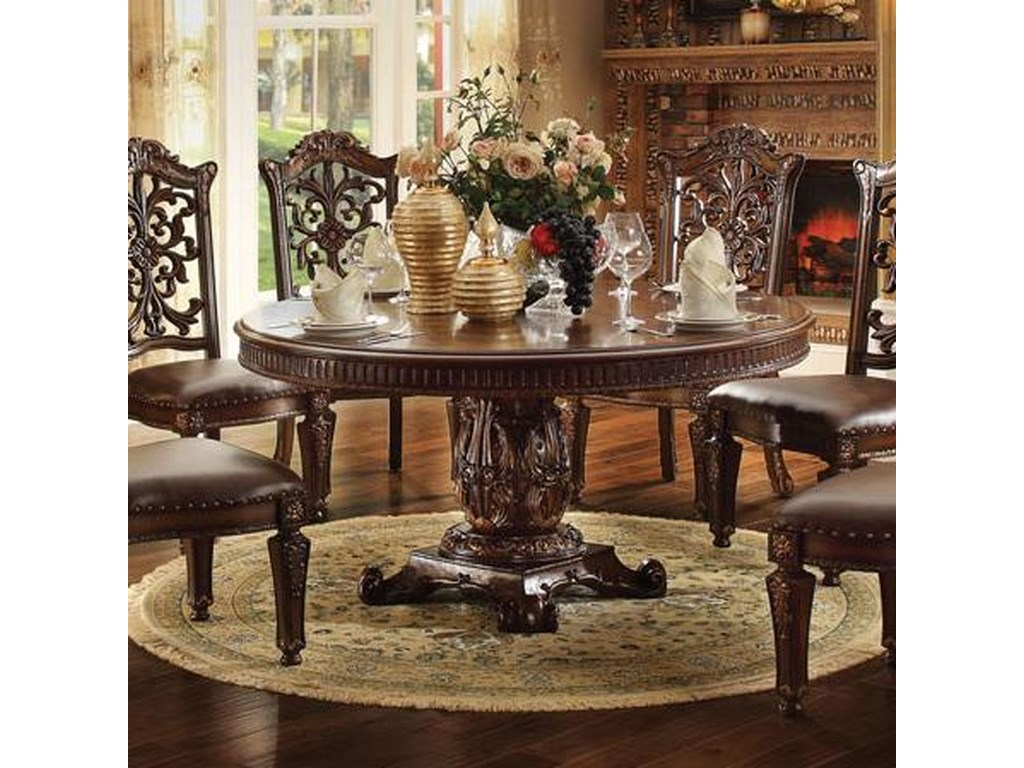 Vendome 72 Inch Round Dining Table