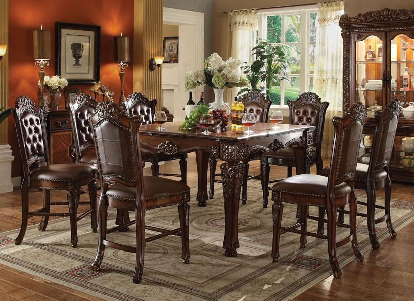 Acme Furniture Vendome9 Piece Table And Chairs Set ...