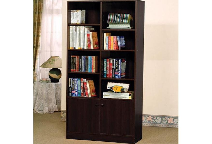 Verden 12102 Book Shelf Cabinet