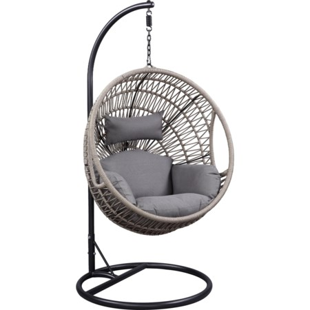 Patio Swing Chair with Stand