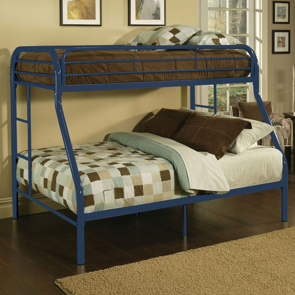 Acme Furniture Youth Bunk Beds 02053bu Contemporary Twin Full Bunk