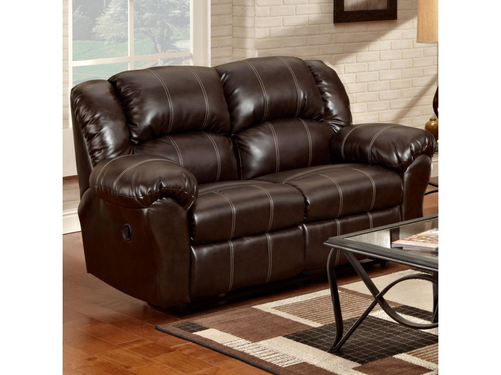 Affordable Furniture 1000Reclining Loveseat