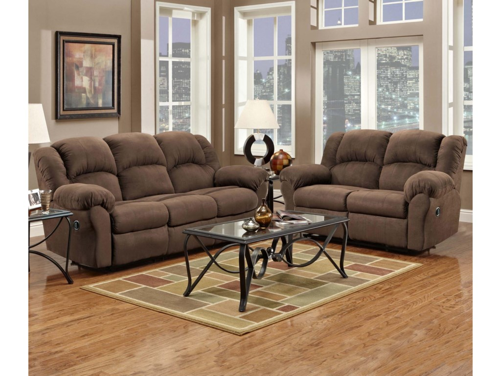 Affordable Furniture 1000Reclining Sofa