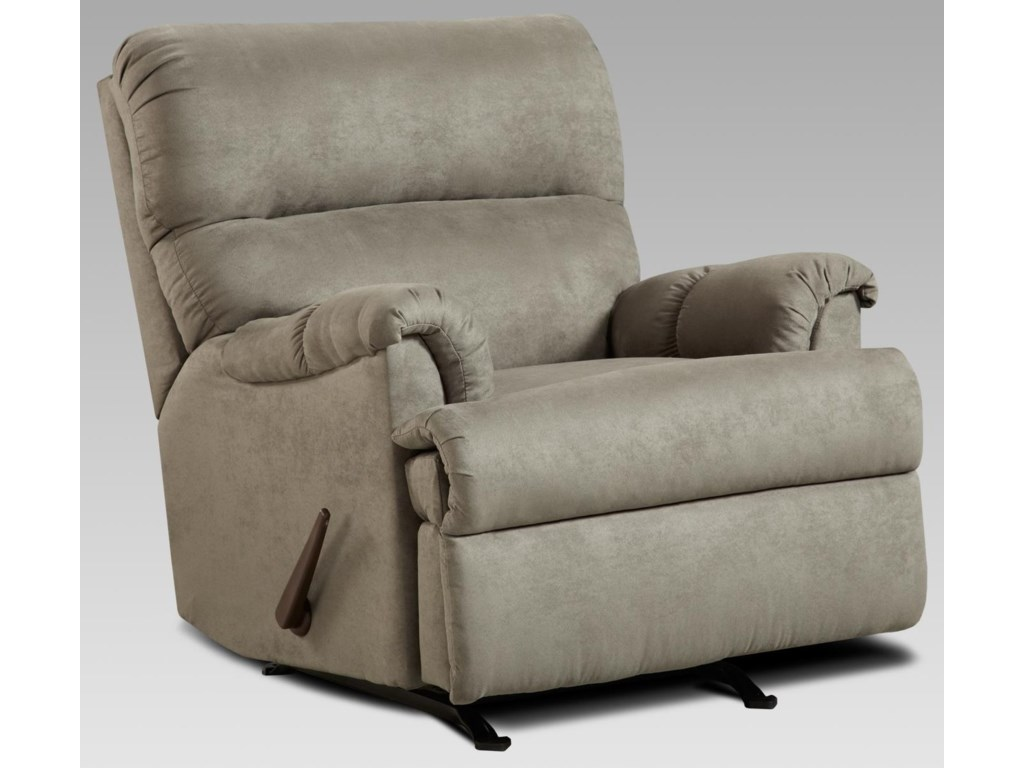 Affordable Furniture 2155 GChaise Rocker Recliner