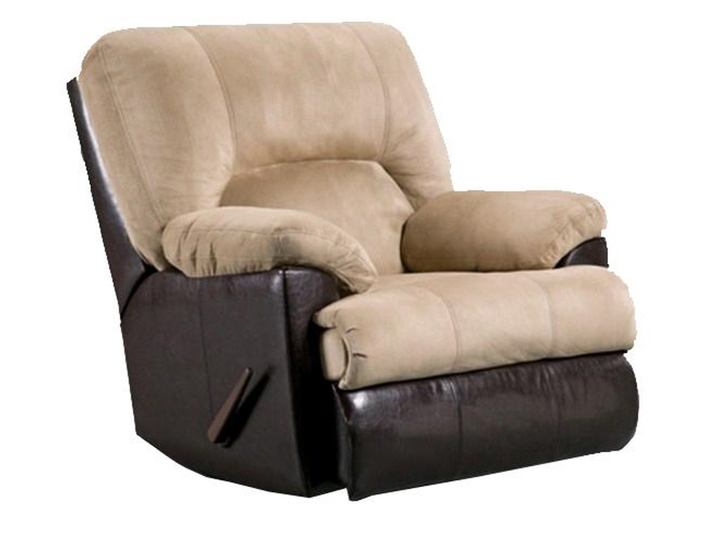 Affordable Furniture 2800Chaise Rocker Recliner