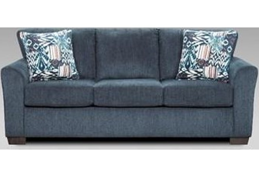 3330 Allure Navy Sofa Sleeper