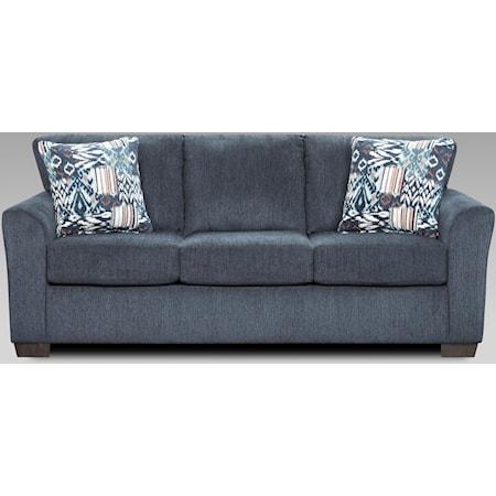 3333 Navy Sleeper Sofa