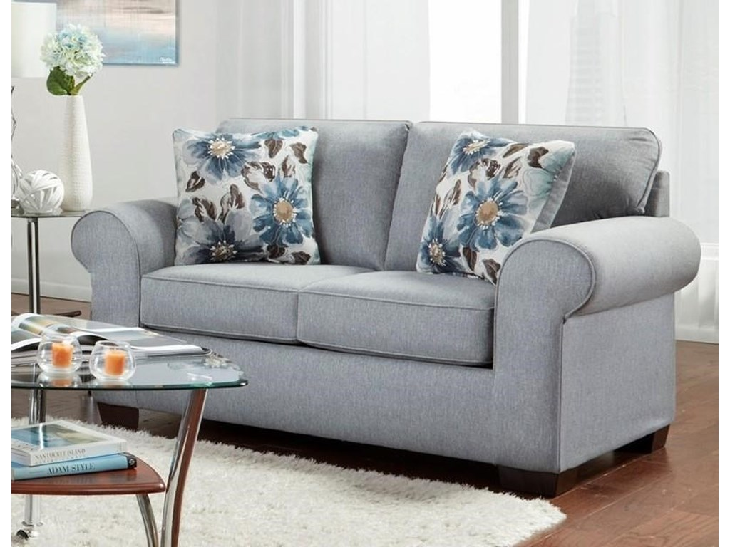 Affordable Furniture Dryden SteelLoveseat