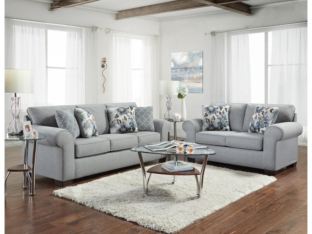 Affordable Furniture Charisma LinenSofa