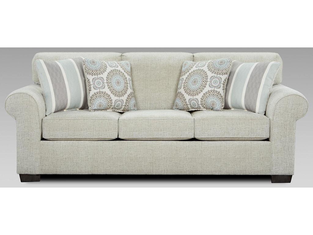Affordable Furniture Charisma LinenSofa Sleeper