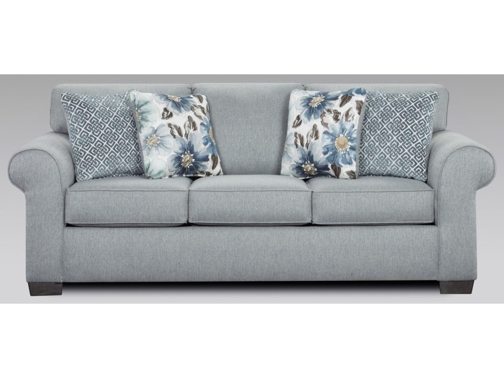 Affordable Furniture Dryden SteelSofa Sleeper