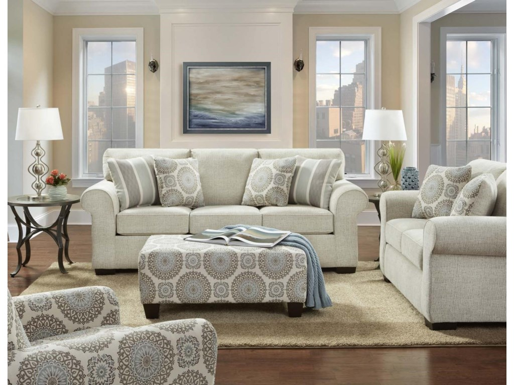Affordable Furniture Charisma LinenAccent Chair