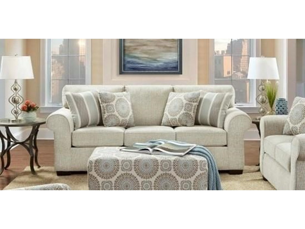 Affordable Furniture 3440Queen Sleeper Sofa