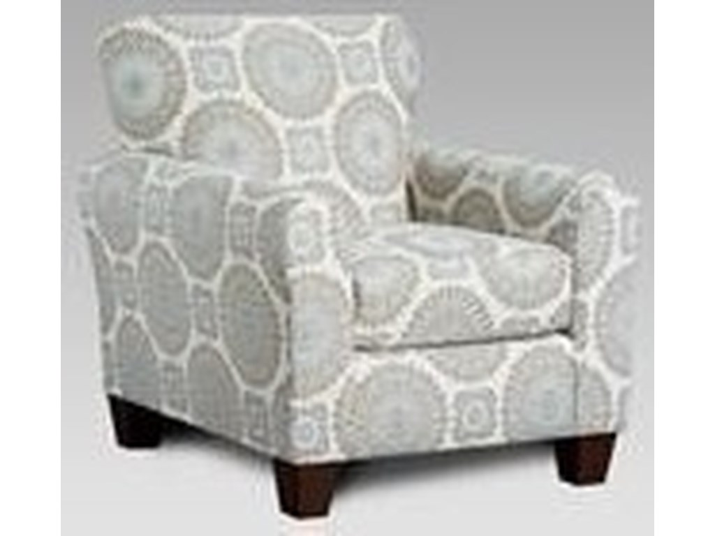 Affordable Furniture 3440Upholstered Accent Chair