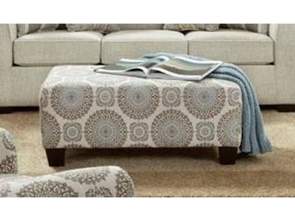 Affordable Furniture 3440Accent Ottoman