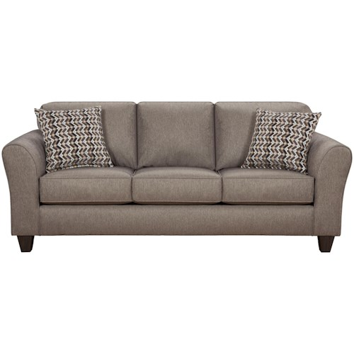 Affordable Furniture 5000 Sofa with Flared Arms