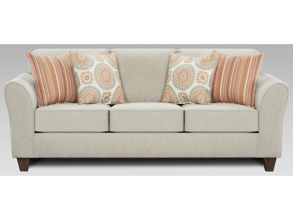 Affordable Furniture BenningtonTaupe Sofa