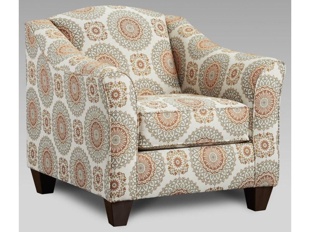 Affordable Furniture BenningtonBrianne Marmalade Accent Chair