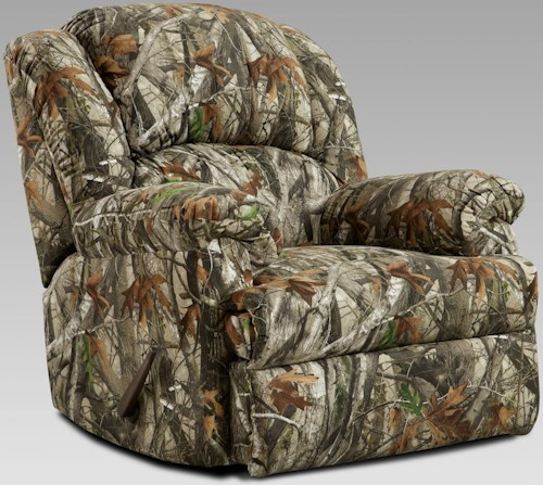 Affordable Furniture 5500 Rocker Recliner with Pillow Arms