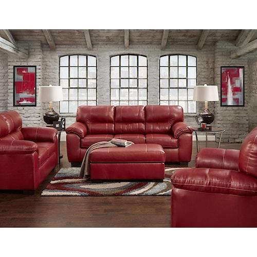 Affordable Furniture 5600 Stationary Living Room Group - Colder's .