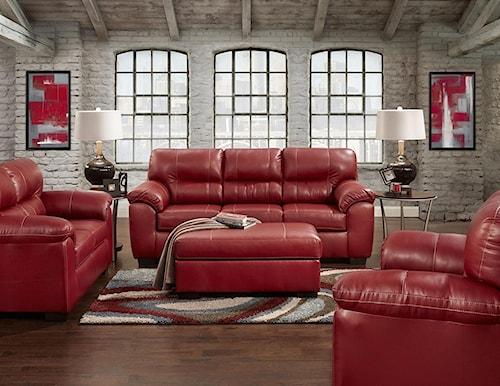 Affordable Furniture 5600 Stationary Living Room Group