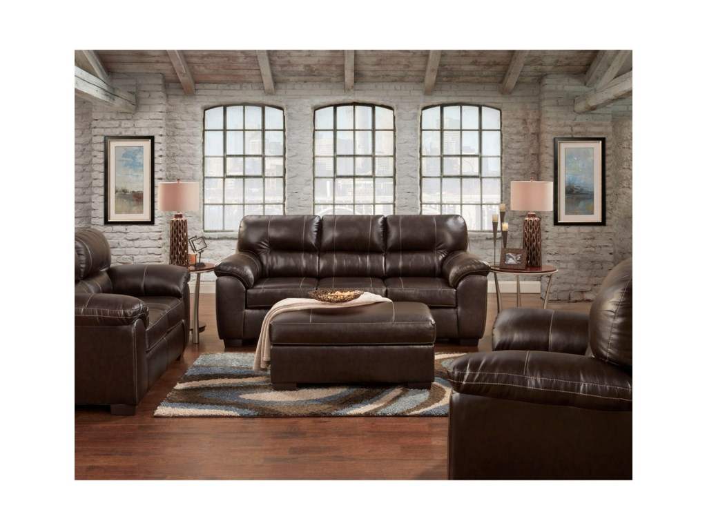 Affordable Furniture 56003 Piece Stationary Living Room Group