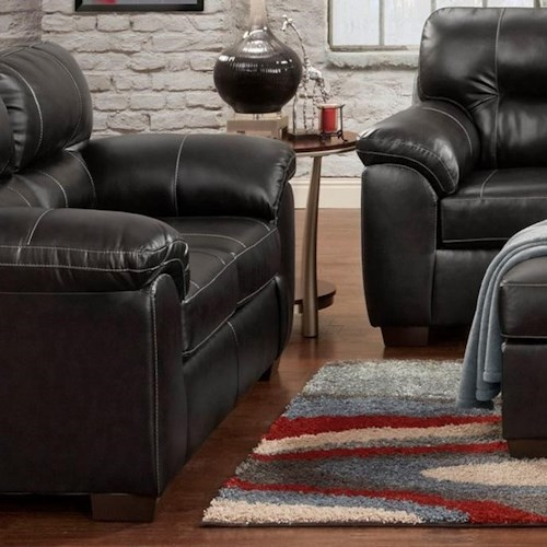 Affordable Furniture 5600 Loveseat