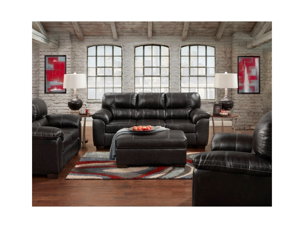 Affordable Furniture 5600Cocktail Ottoman