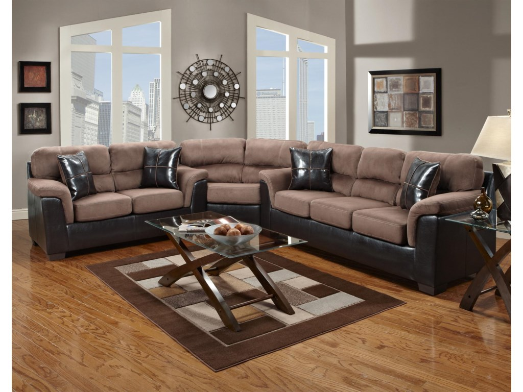 Affordable Furniture 6200Loveseat