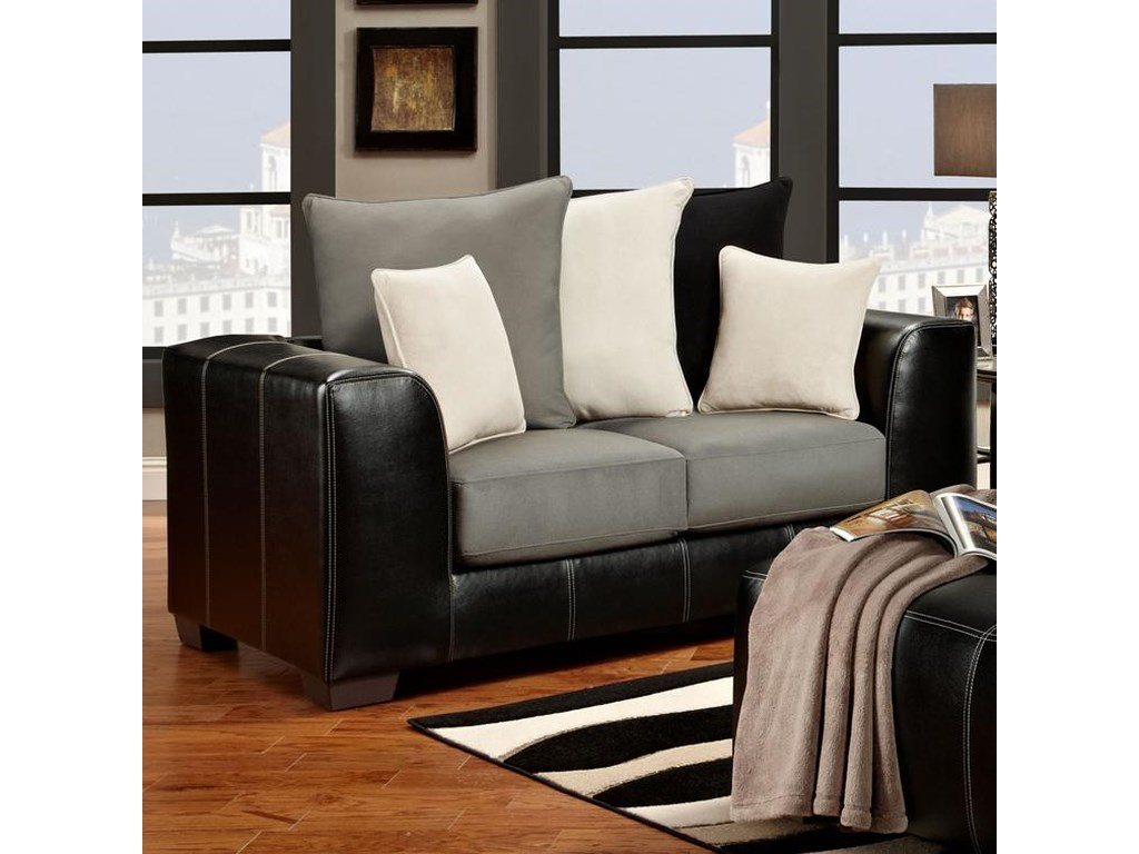 Affordable Furniture 6300Loveseat