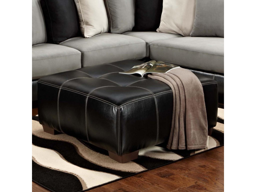 Affordable Furniture 6350Party Ottoman