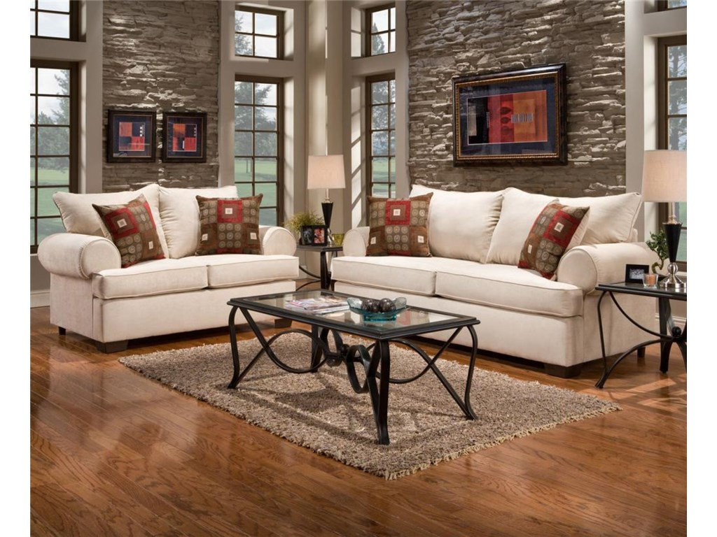 Affordable Furniture 6400Loveseat