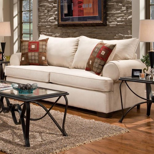 Affordable Furniture 6400 Stationary Sofa Colder 39 S Furniture And Appliance Sofa