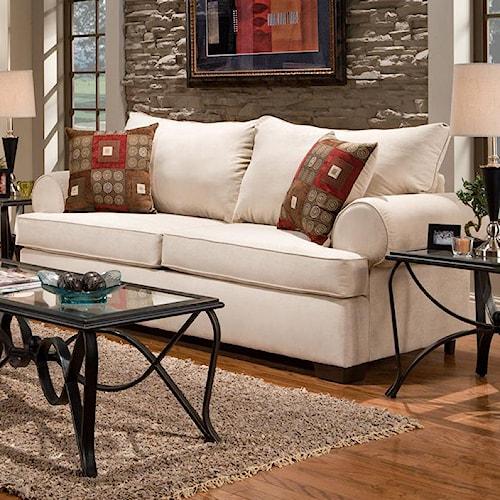 Affordable Furniture 6400 Stationary Sofa