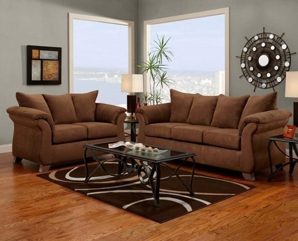 Affordable Furniture 6700Sofa and Loveseat