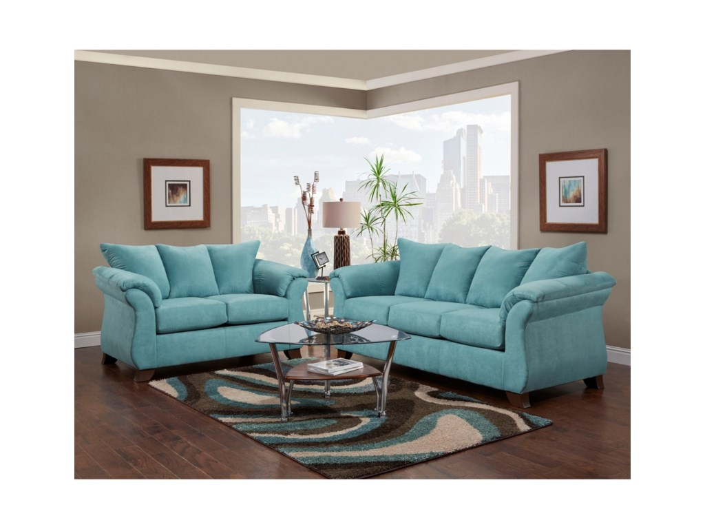 Affordable Furniture 6700Loveseat