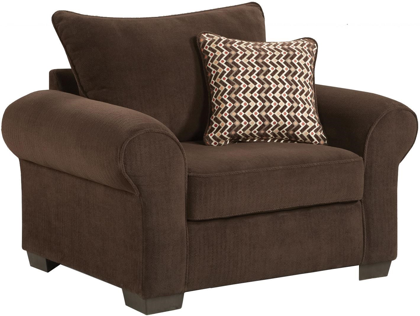 Affordable Furniture 7300 Casual Chair and a Half with ...