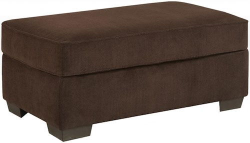 Affordable Furniture 7300 Contemporary Rectangular Cocktail Ottoman