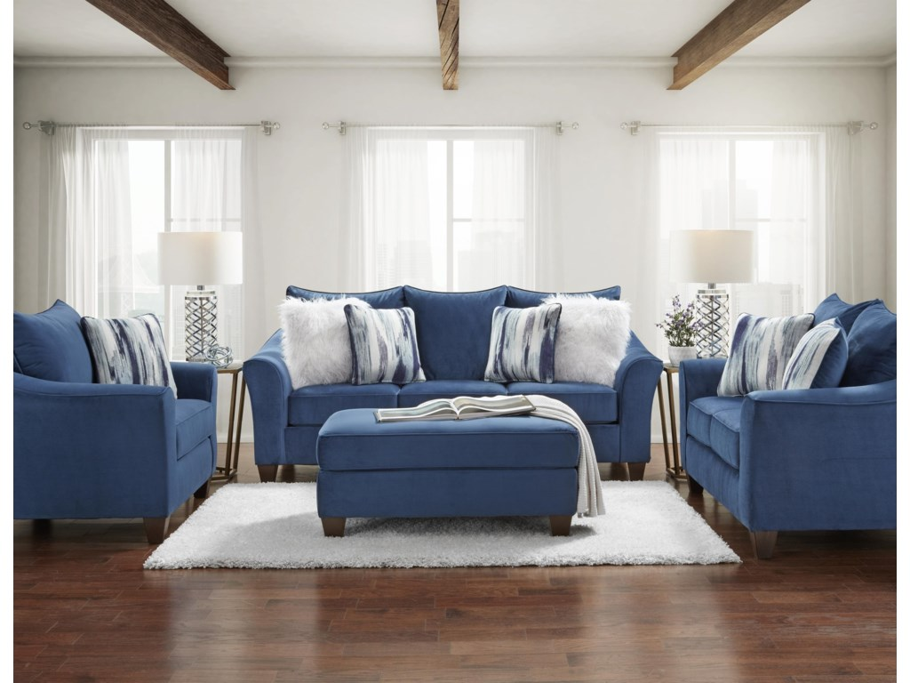 Affordable Furniture 7700Loveseat