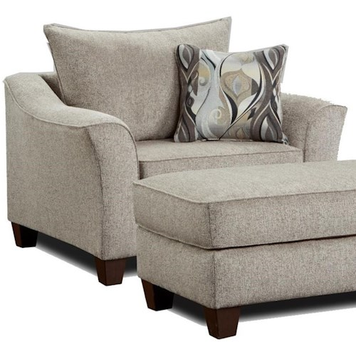 Affordable Furniture 7700 Chair and a Half