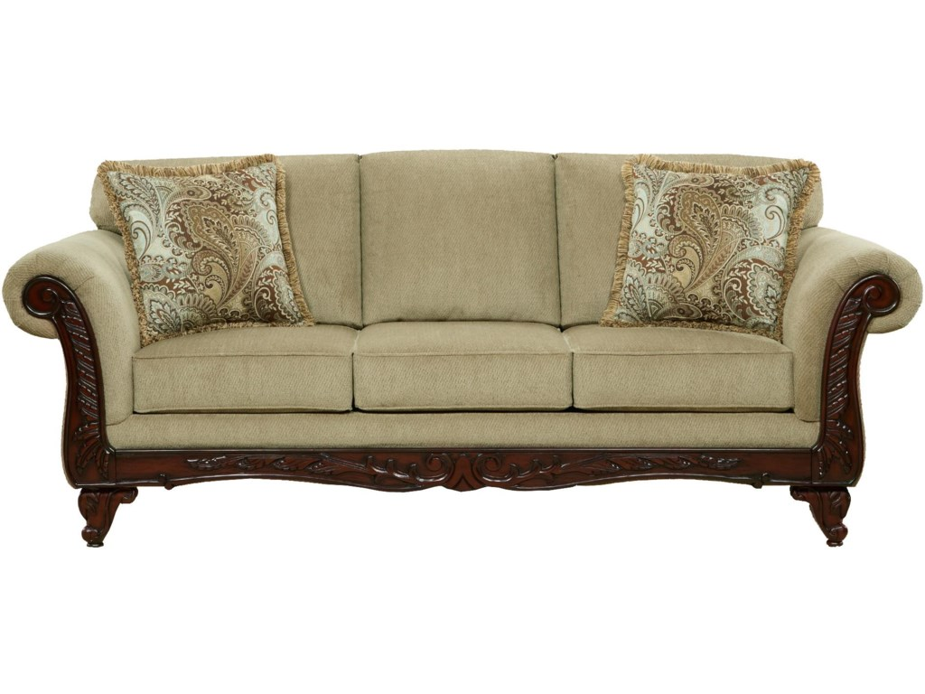Affordable Furniture 8500Traditional Sofa