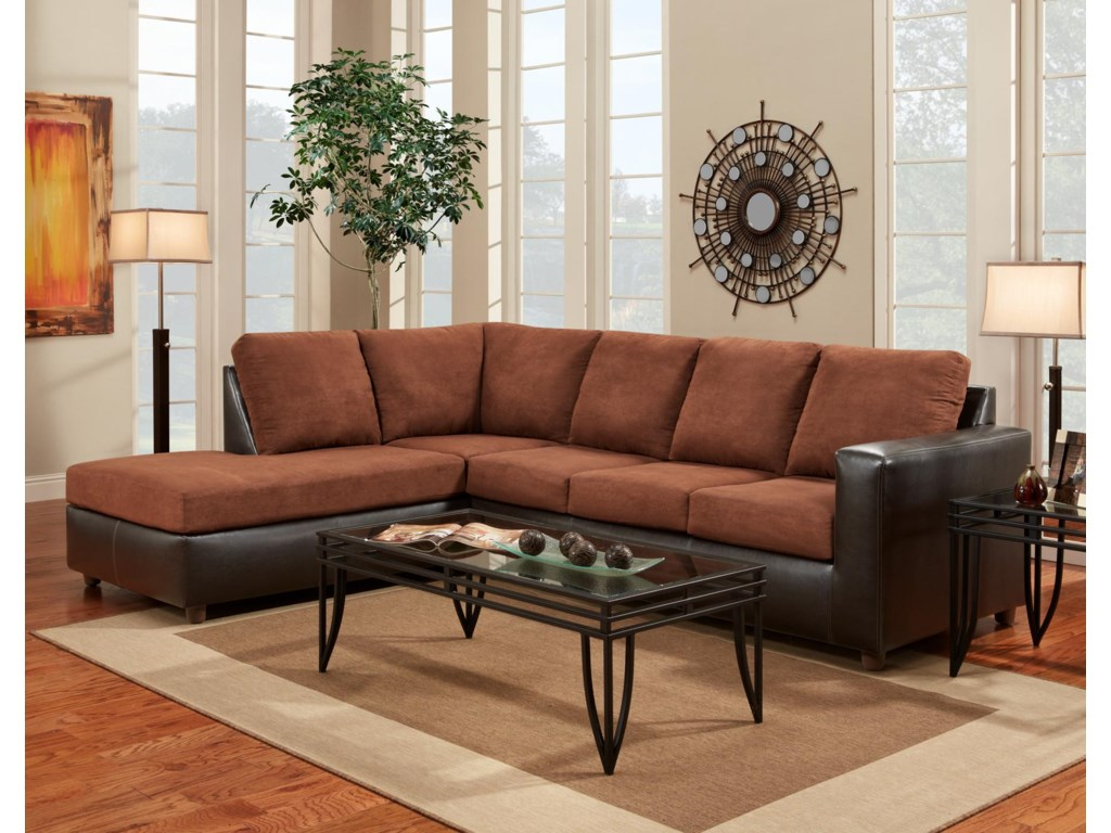 Affordable Furniture 3650 Sofa Sectional