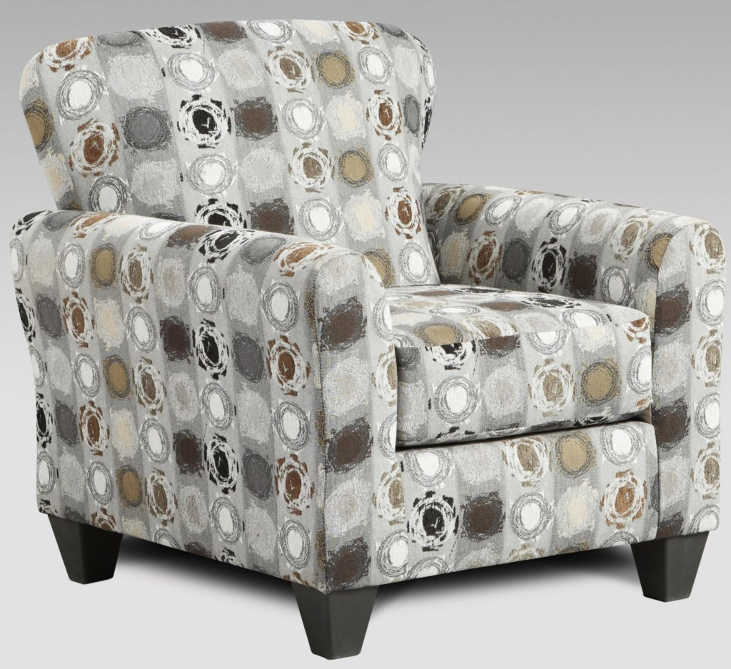 Affordable Furniture 9001 Paintball Upholstered Accent Chair