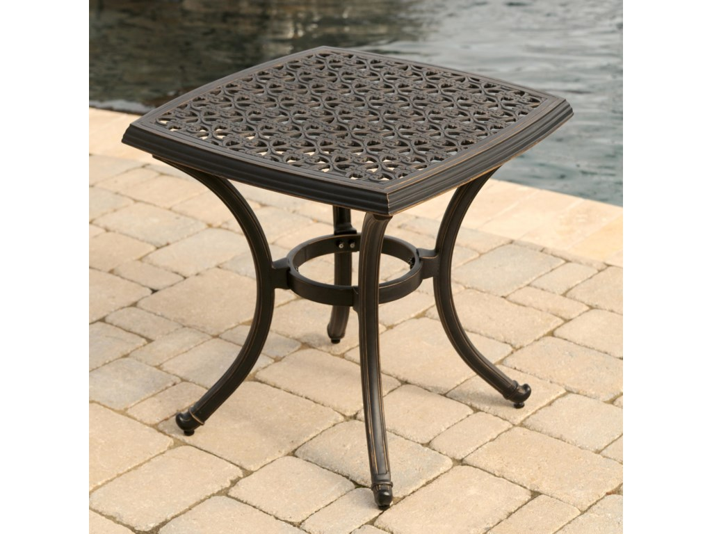 Apricity Outdoor AmalfiSquare End Table