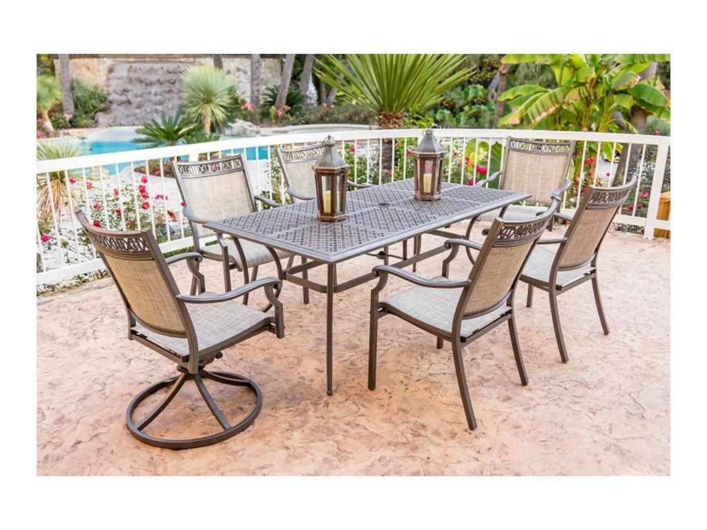 Apricity Outdoor Andover AgioOutdoor Dining Table