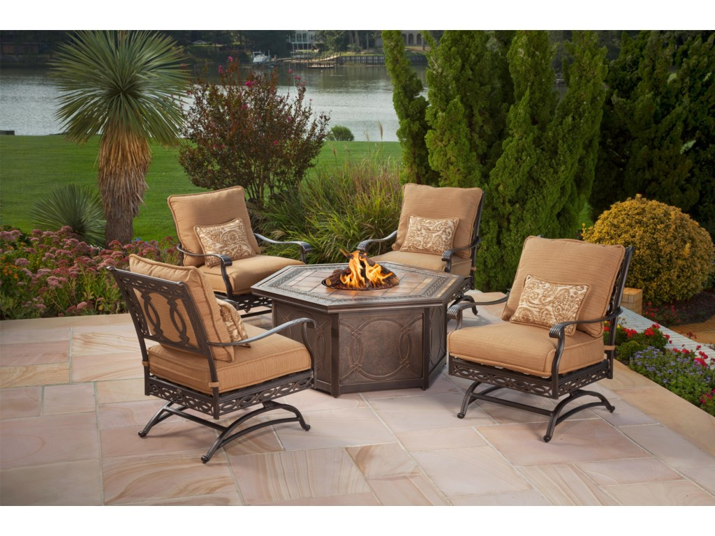 Apricity Outdoor AshmostOutdoor Spring Chair with Cushion