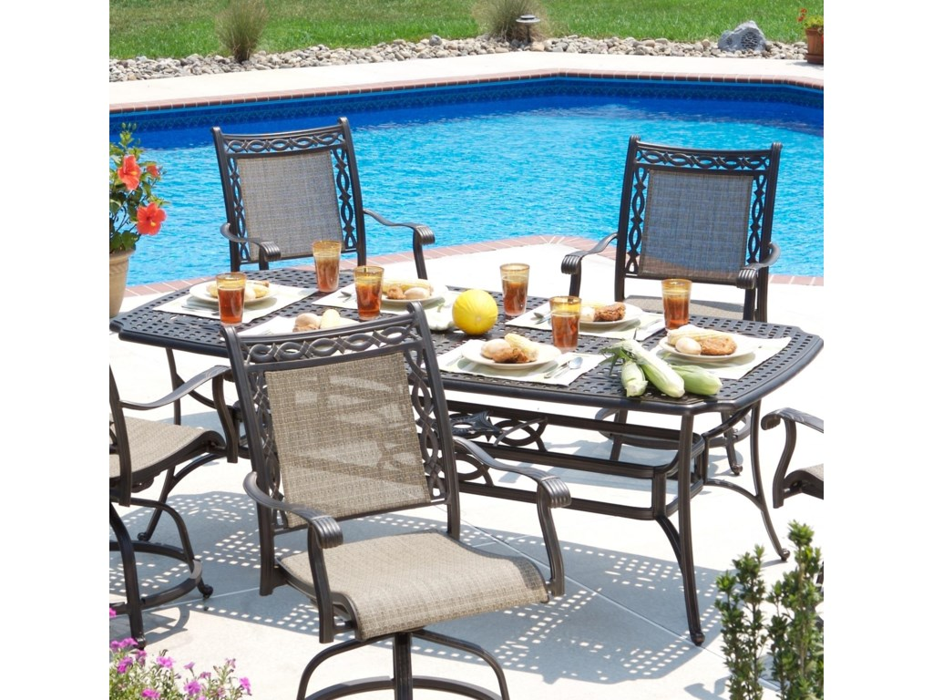 Agio Ashmost7 Piece Outdoor Dining Set