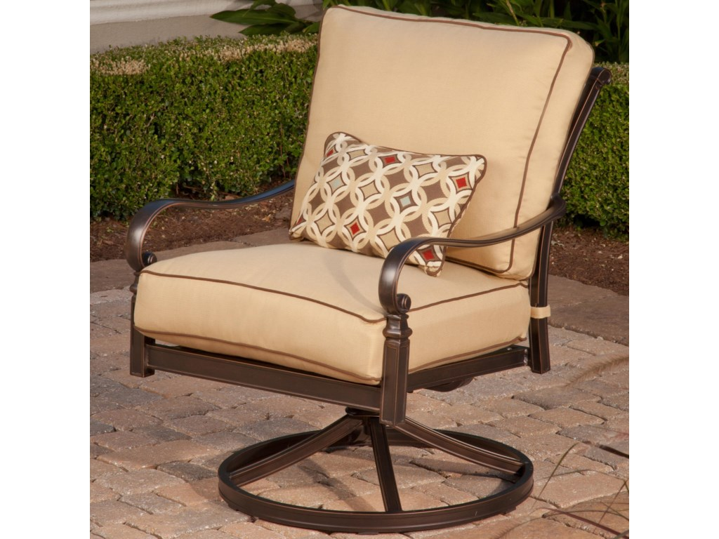 Apricity Outdoor BalmoralSwivel Lounge Chair