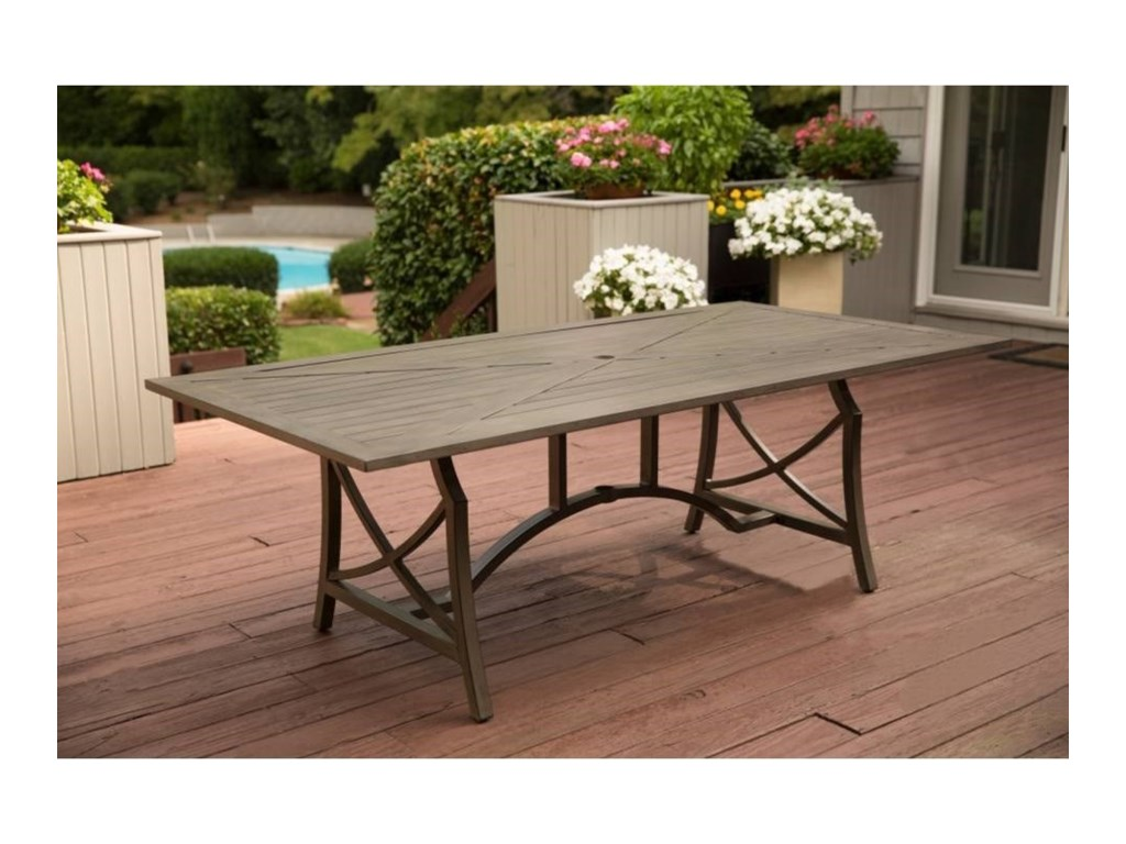 Apricity Outdoor DavenportDining Table