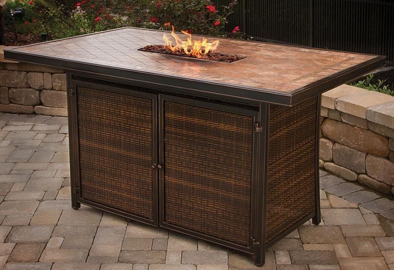 ... Bar Height Table. Agio Fire Pits Balmoral 72
